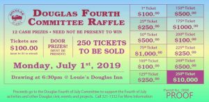 Douglas 4th of July Committee Raffle @ Louie's Douglas Inn | Juneau | Alaska | United States